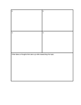 Persuasive Essay Graphic Organizer - Editable docx