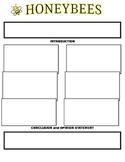 Persuasive Essay Graphic Organizer for HoneyBees