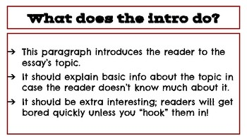 Persuasive Essay Guide: Introduction Paragraph and Thesis Statement