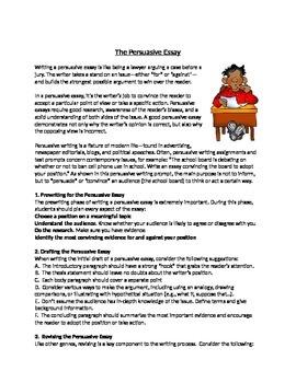 Persuasive Essay Helpful Tips