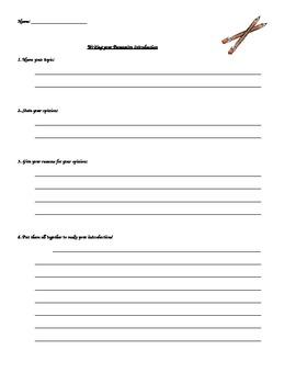 Persuasive Essay Introduction