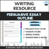 Persuasive Essay Outline Packet
