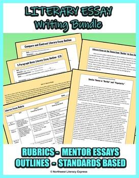 Persuasive Essay Outline Bundle
