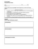 Persuasive Essay Planner practice