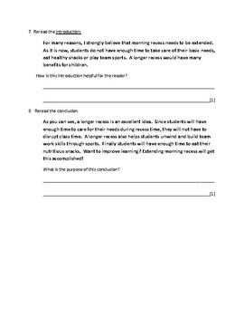 persuasive essay reading comprehension assessment by literacy  persuasive essay reading comprehension assessment