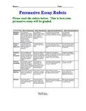 Persuasive Essay Rubric (any length)