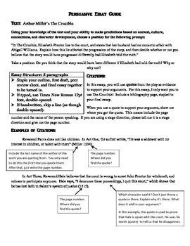 Persuasive Essay Sample Guide