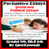 Persuasive Essay Project, Writing About Social & Political Issues