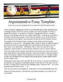 Persuasive Essay Template for AP Spanish Language and Culture Exam