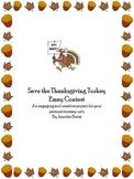 Persuasive Essay: Thanksgiving Turkey Contest