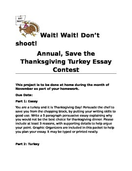 persuasive essay thanksgiving turkey project by geeky teacher tpt persuasive essay thanksgiving turkey project