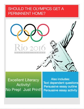 Essay About Olympics 2016
