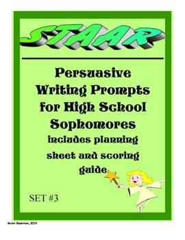 Persuasive Essay Topics for the STAAR Test: Set 3