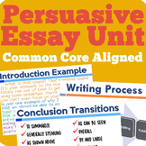 Persuasive Essay Writing Bundle (Common Core Aligned)