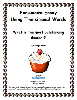 Persuasive Essay: What is the most outstanding dessert?