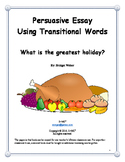 Persuasive Essay: What is your favorite holiday?