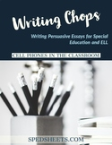 Persuasive Writing for Special Ed - Writing Chops: The Cel