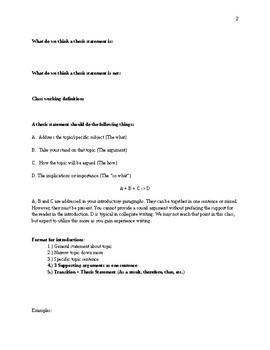 Persuasive Essay Writing Packet