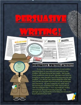 Language Arts Persuasive Essay:  Writing skills that will last a lifetime!