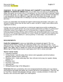 Persuasive Essay on Narcissism in Modern World - Assignment Sheet