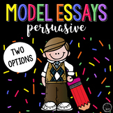 Model Persuasive Essays (2)
