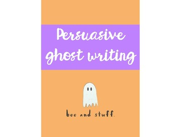 Persuasive Ghost Writing