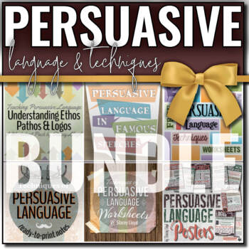 Persuasive Writing and Language BUNDLE