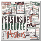 Persuasive Language Techniques POSTERS