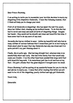 Persuasive Letter