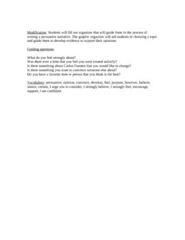 Persuasive Letter Rubric Miss Roper
