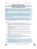 Persuasive Letter - Supporting or Opposing Raising Minimum Wage