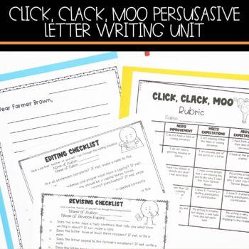 Persuasive Letter Writing Bundle