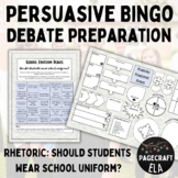 Persuasive Letter Writing - School Uniform - Bingo!