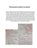 Persuasive Letter to Santa - Writing and Rubric