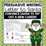 Christmas Writing Activity: Persuasive Letter to Santa