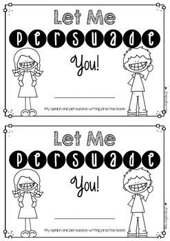 persuasive writing prompt