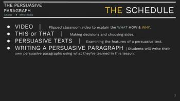 Persuasive Paragraph Package 2.0