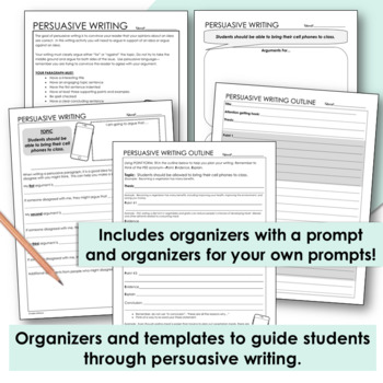 what to include in a persuasive essay