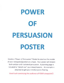 Persuasive Poster