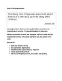Persuasive Prompt for STAAR English EOC - Parent/Child Rel