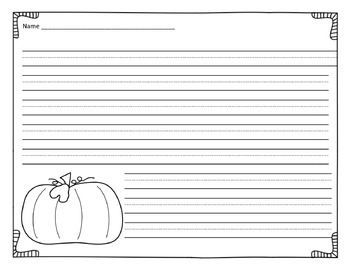 Persuasive Pumpkin Writing