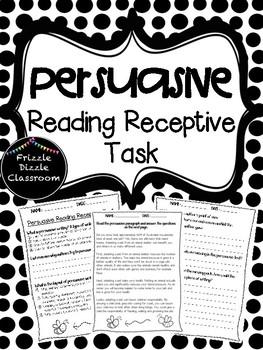Persuasive Reading Receptive Test