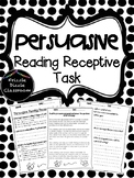 Persuasive Reading Receptive Test