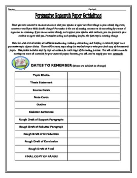 research paper guidelines for middle school This is the beginning of a multi-step research paper process that encourages sophisticated historical thinking rationale  middle school teachers .