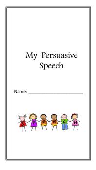 Persuasive Speech Inquiry Packet