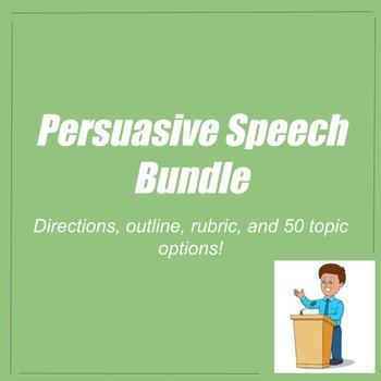 Persuasive Speech Materials