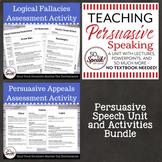 Persuasive Speech Unit Bundle