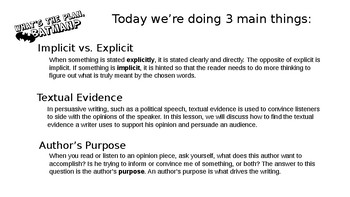 "Persuasive Speech using ""I Have a Dream."" Lesson 2"