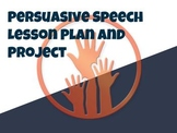 Persuasive Speeches Lesson Plan and Project