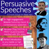 Persuasive Speeches: Pack 1